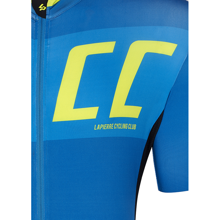 Lapierre men's bike jersey Superlight Petrol Lime - detail