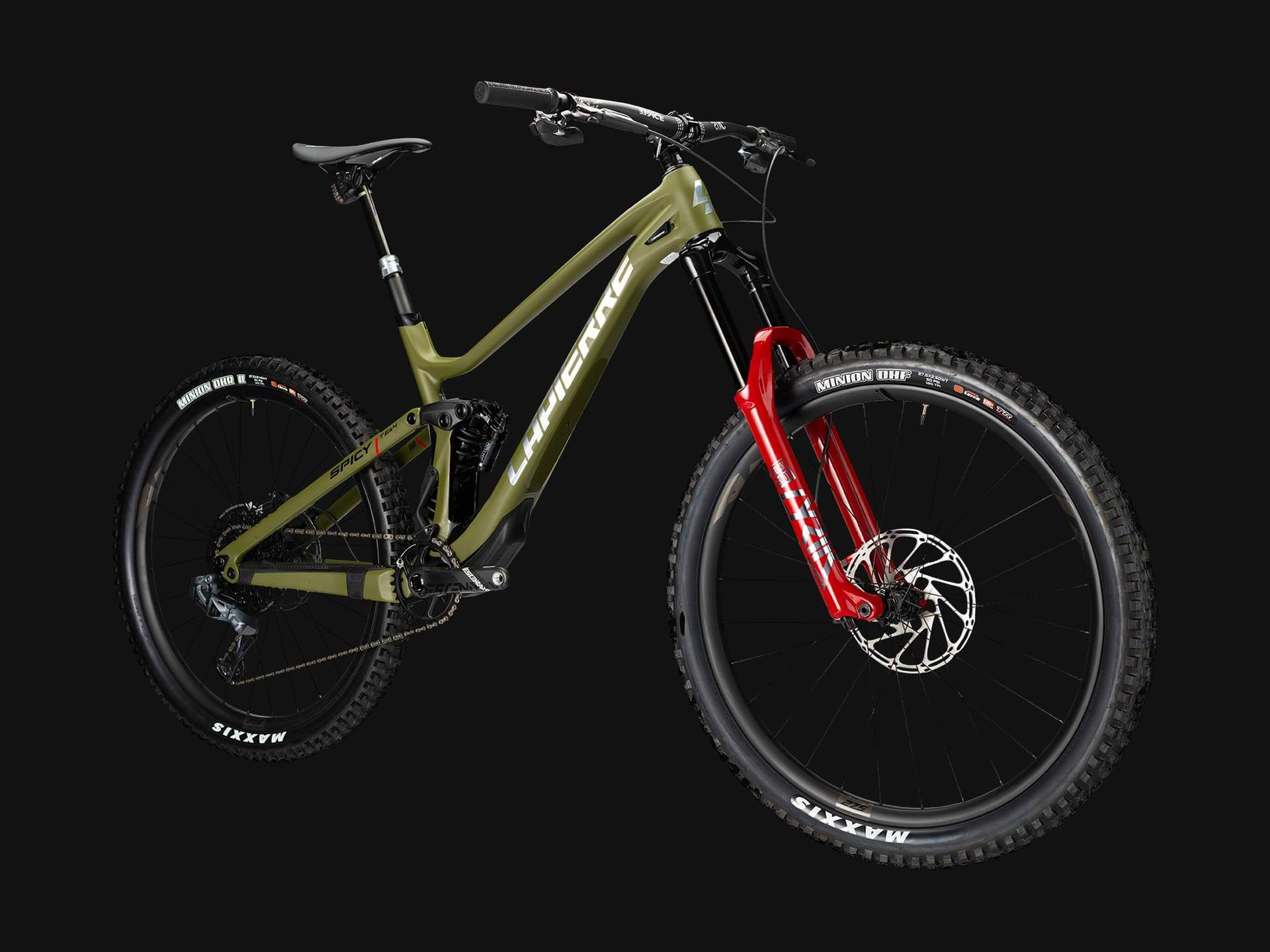 Lapierre Spicy Team Ultimate Enduro-Mountainbike