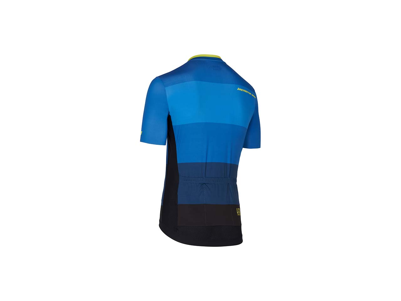 Lapierre men's cycling jersey Superlight Petrol Lime - back