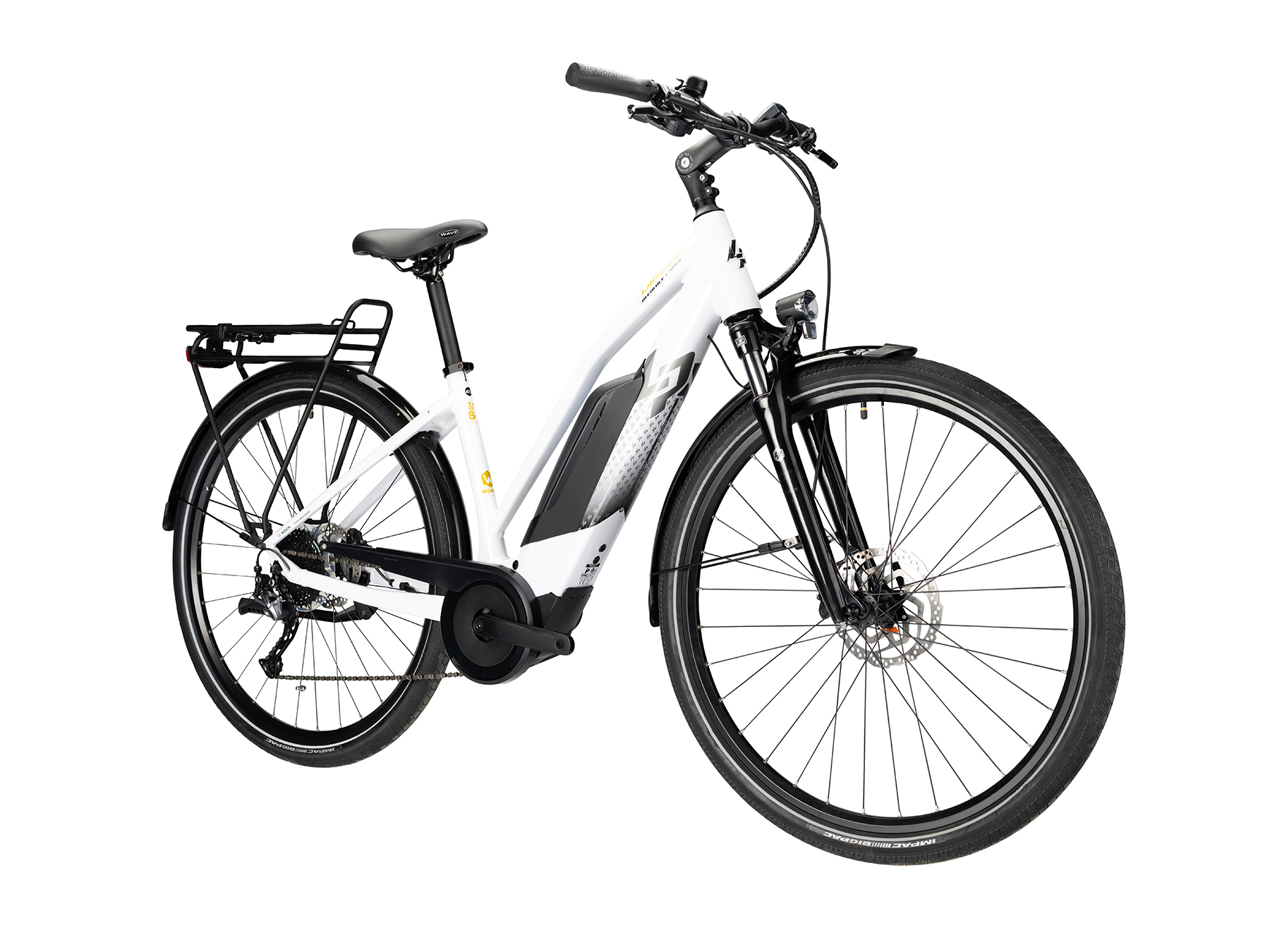Lapierre Overvolt Trekking 6.5 2021 Womens Electric Trekking Bike 1