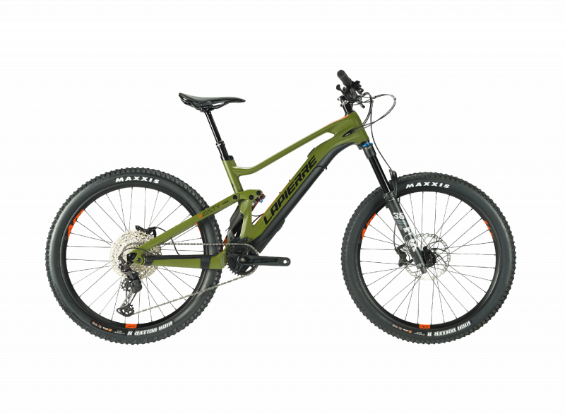 Right side view of a Lapierre eZesty AM 9.2 electric mountain bike