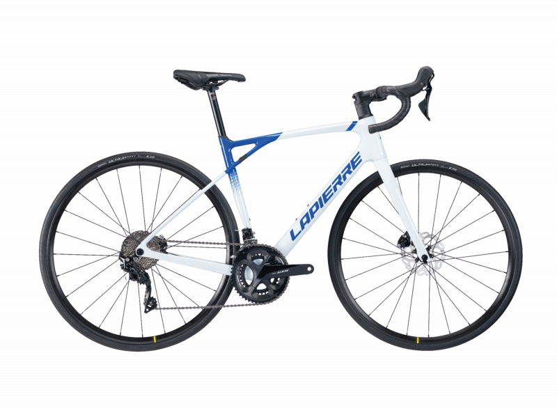 Lapierre Pulsium SAT 5.0 Disc Women 2021. Endurance Road Bike for women. View from the right side.