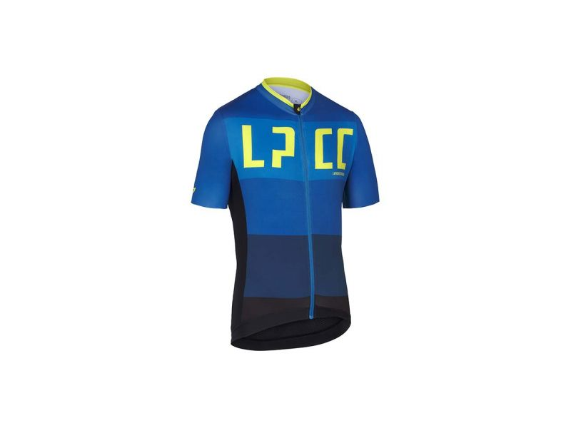 Lapierre men's cycling jersey Superlight Petrol Lime - front