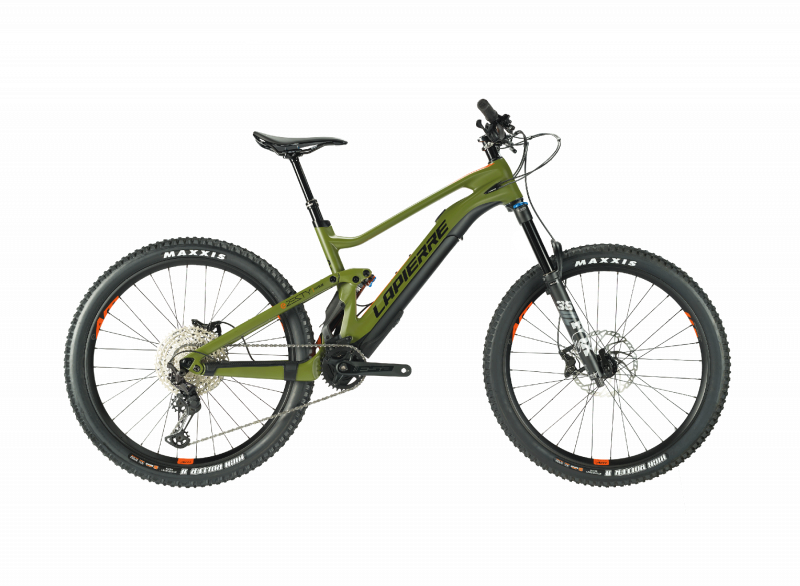 Lapierre eZesty AM 9.2 E-Mountainbike Light. Seitenansicht.